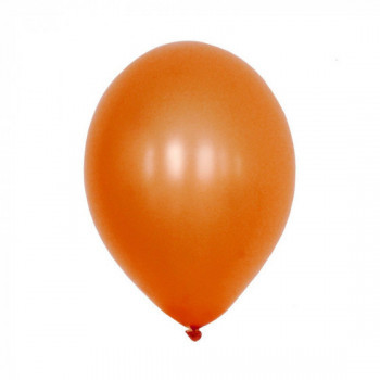 Sachet de 10 ballons latex - orange nacré
