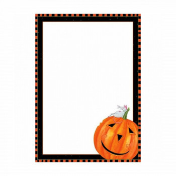 Set de 8 cartes d'invitation Halloween