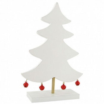 Sapin grelots rouges