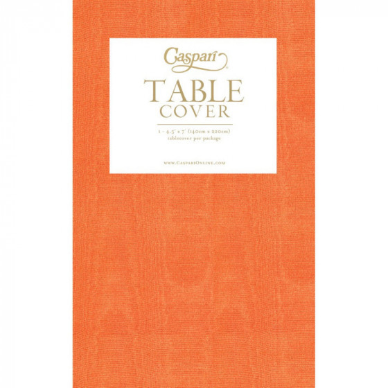 Nappe en papier Caspari orange