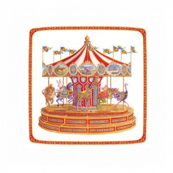 Set de 8 assiettes Carrousel