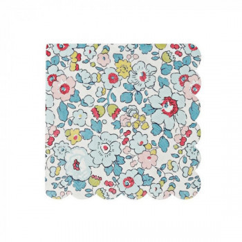 Set de 20 serviettes Liberty