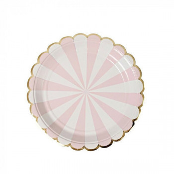 Set de 8 assiettes Toot Sweet - rose PM