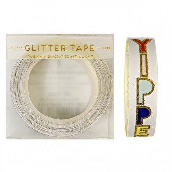 Glitter tape Yippee Hooray