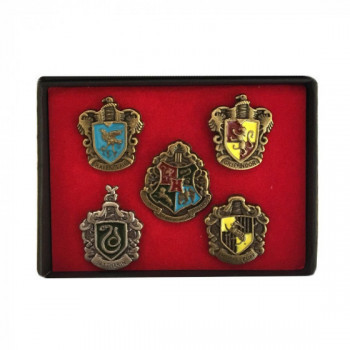 Coffret 5 écussons Harry Potter