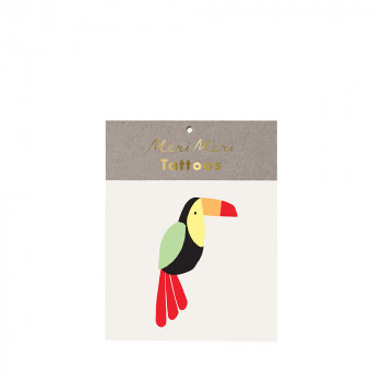 Set de 2 tatouages Toucan