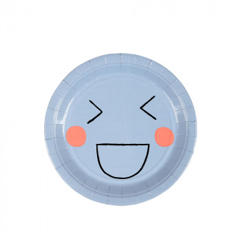 Set de 12 assiettes Smiley PM