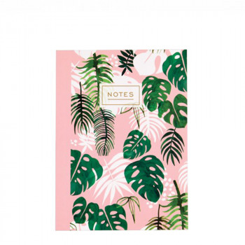 Carnet tropical rose