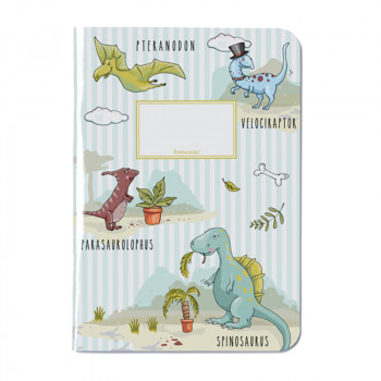 Cahier dinosaures