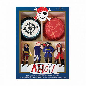 Kit pour cupcakes Pirate