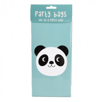 Set de 6 party bag Animaux