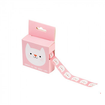 Washi tape Cookie the cat