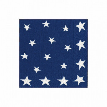 Set de 20 serviettes Stars GM
