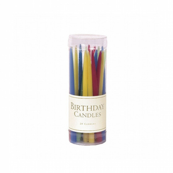 Set de 20 bougies Bright