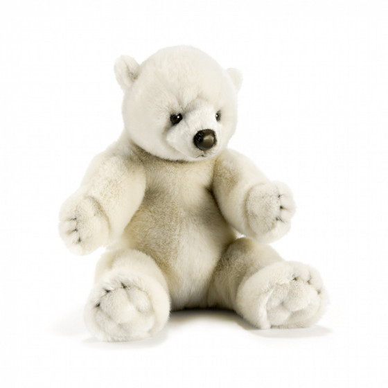 Peluche ours polaire 35 cm