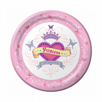 Set de 8 assiettes - princesse