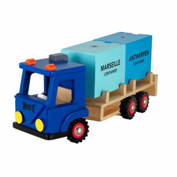 Camion de containers