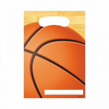 Set de 8 sachets cadeau Basketball