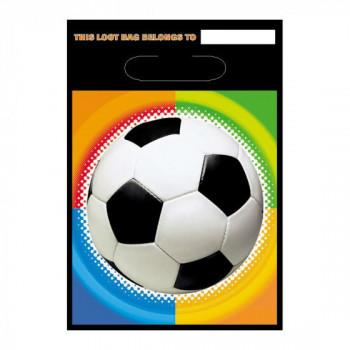 Set de 8 sachets cadeau Football