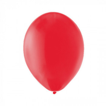 Sachet de 10 ballons latex - rouge