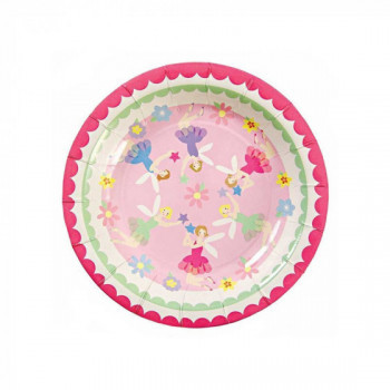 Set de 12 assiettes - fairies